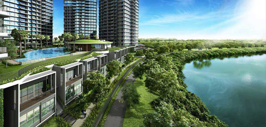 Rivertrees-Residences-Strata-landed-view