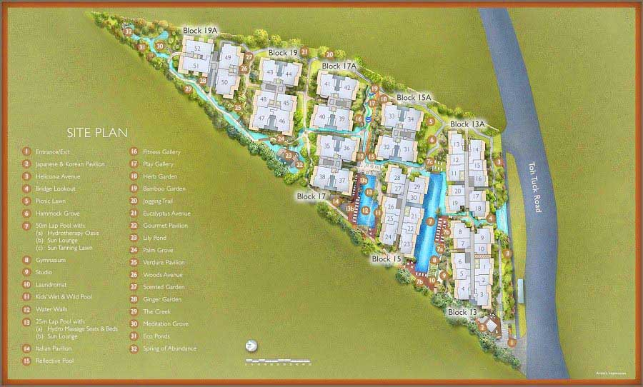 The-Creek-Bukit-Siteplan