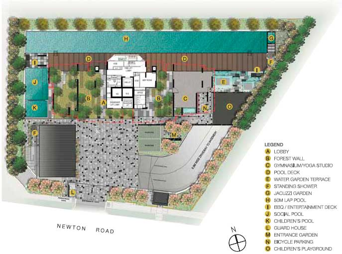 26-Newton-site-plan