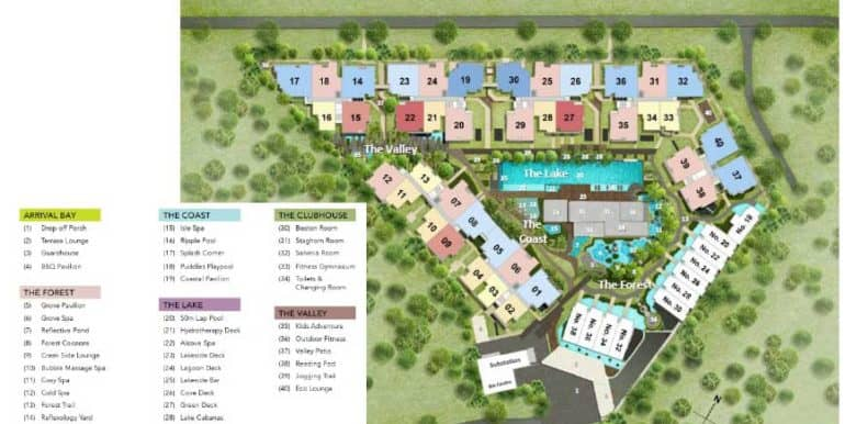 Waterfront-at-Faber-site-plan
