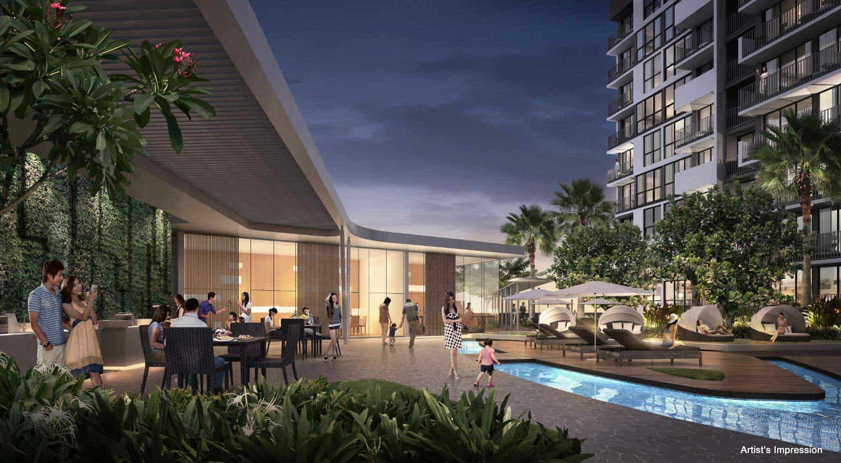 The wisteria mixed development new launch singapore for The wisteria